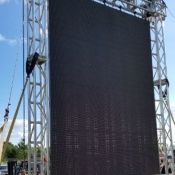 Queen City Ex video wall support